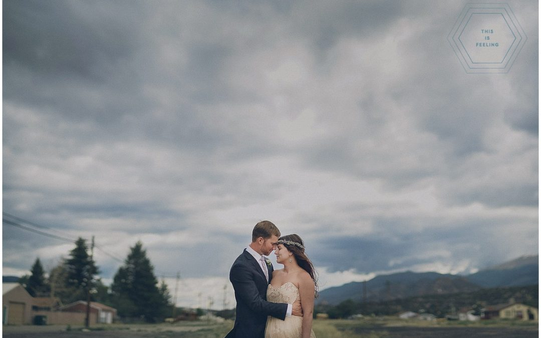 Anna & Collin // Nathrop, CO. Destination Wedding