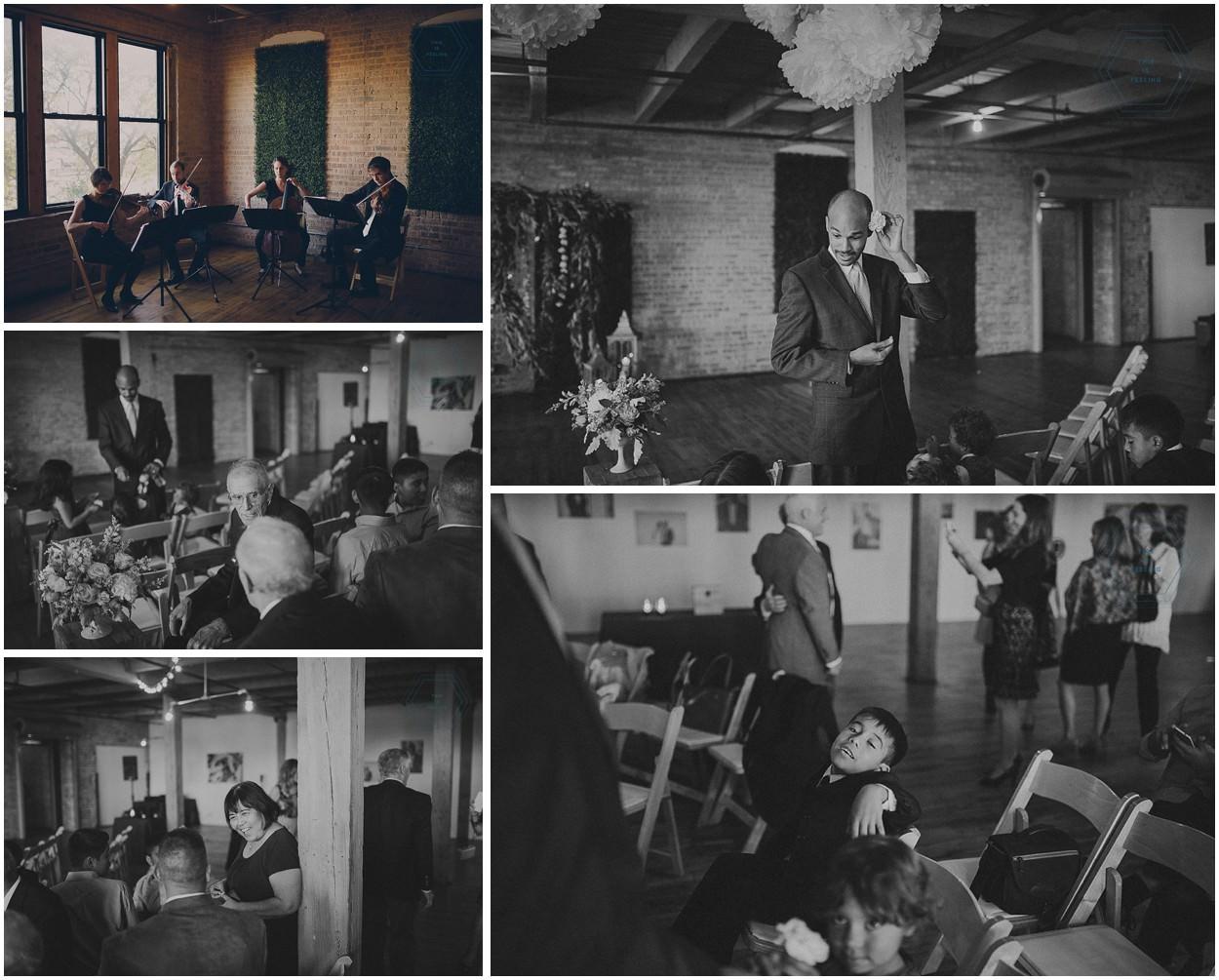 Patricio & Kelly // Lacuna Artist Loft Vintage Wedding Chicago