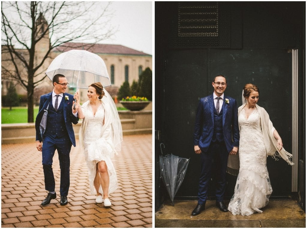 Chicago Snowstorm Wedding This Is Feeling Photography